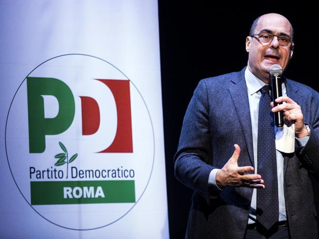 Terremoto nel Pd: Zingaretti si dimette