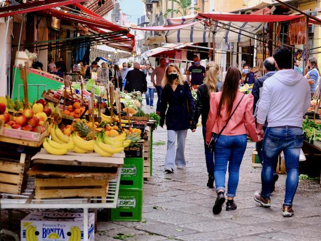 Sardegna, verso la zona gialla, cambiano i colori delle zone