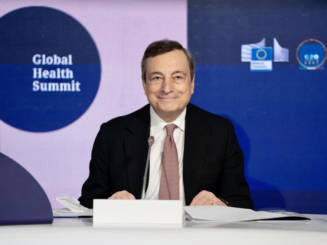 Draghi,Italia favorevole a sospensione temporanea brevetti
