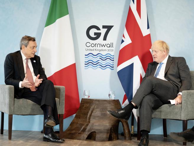 G7, Draghi:
