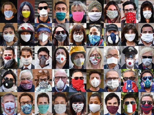 Stop all'obbligo di mascherine all'esterno: l'ipotesi dal 15 luglio