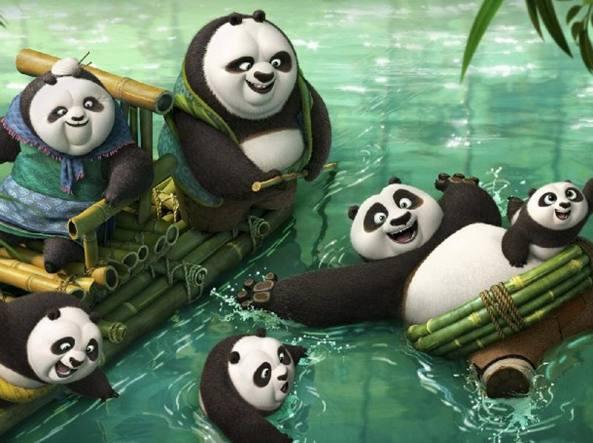 Arriva in sala Kung Fu Panda 3