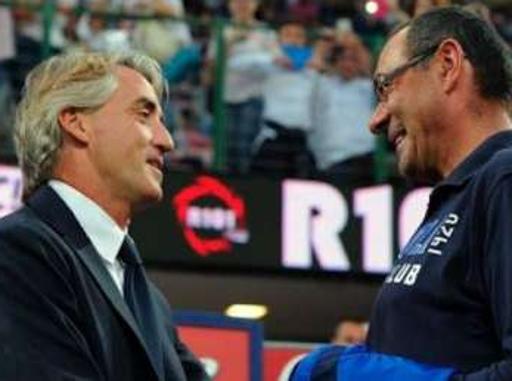 Mancini chiude il caso: «Accetto le scuse di Sarri»Pace fatta davanti alle «Iene»