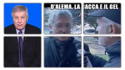 Lucci e D'Alema, intervista antipatica 	Guarda il video