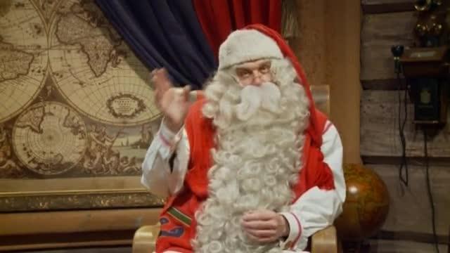 Babbo Natale Video Per Bambini.Babbo Natale Fa Gli Auguri Ai Bambini Di Tutto Il Mondo Corriere Tv
