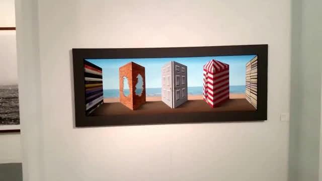 Guarda il quadro e l immagine ti segue l incredibile for Quadri illusioni ottiche