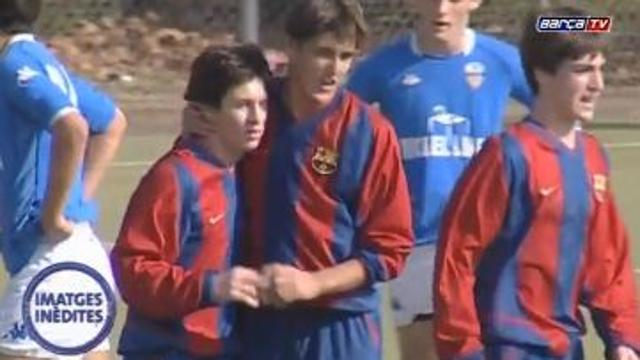 Messi, un campione già a 14 anni