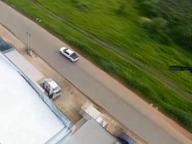 Brasile: l'auto in fuga fermata dal cecchino sull'elicottero