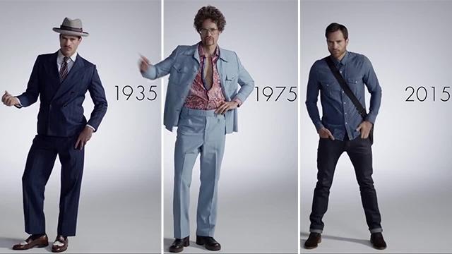 Com cambiata la moda maschile negli ultimi 100 anni for Man arreda ragazzi roma