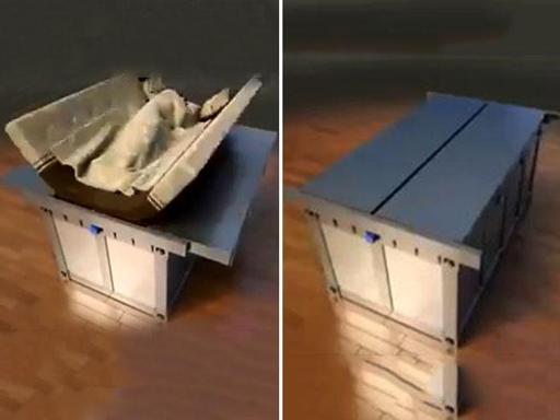 Il letto anti terremoto quando tutto crolla si apre e si - Letto anti terremoto ...