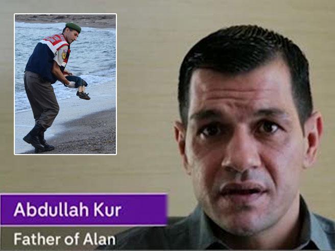 Appello in tv del papà  del piccolo Aylan: «Aprite le porte ai siriani»