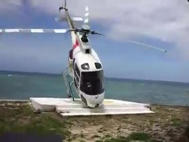 Il vento è troppo forte e l'elicottero si ribalta, tragedia sforata alle Fiji