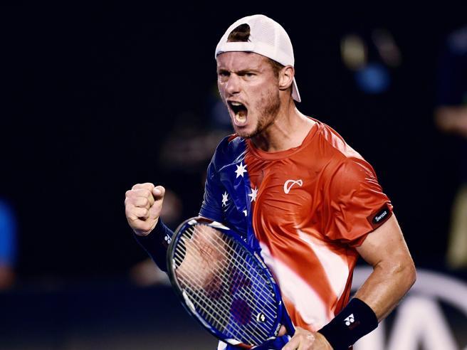 Lleyton Hewitt saluta il tennis agli Australian Open