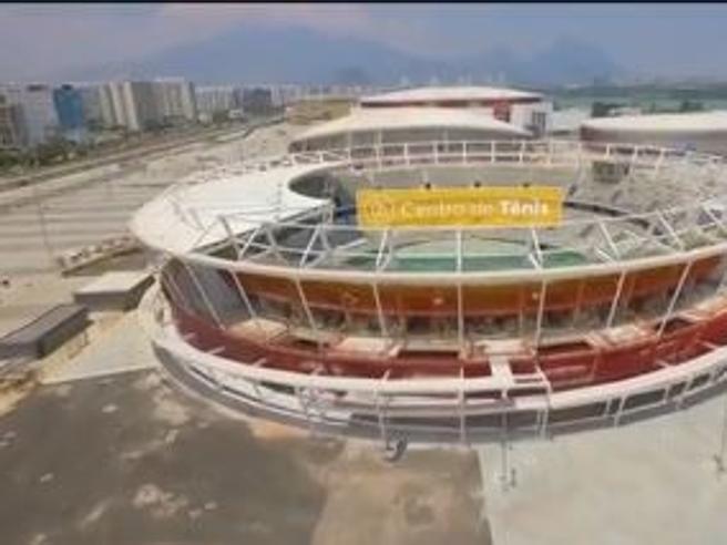Rio 2016, il cantiere delle Olimpiadi visto dal drone