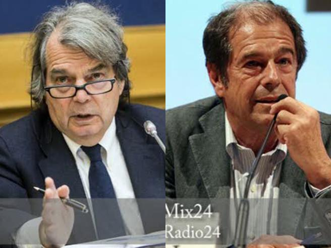 Brunetta-Minoli, scontro  in diretta: «Lei è arrogante» «Mitomane» video