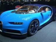 Bugatti Chiron, al Salone di Ginevra l'auto più veloce del mondo
