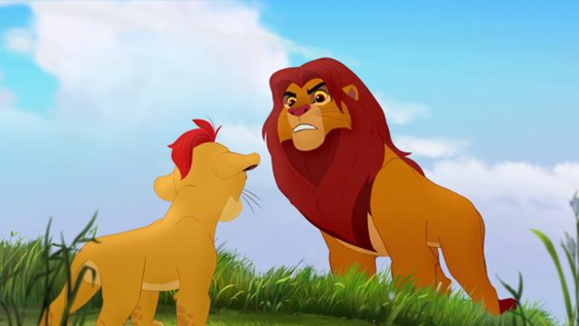 The lion guard il trailer del ritorno del re leone for Sfondi leone