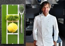 Una pallina da tennis? No, � l'ultimo piatto dello chef Oldani. Ecco il nuovo ristorante (e spunta Sgarbi)