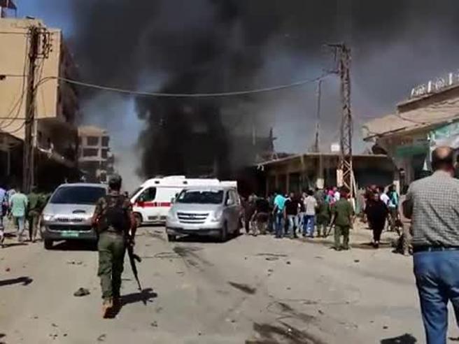 Siria, autobomba uccide 44 persone Isis  rivendica Video |Mappa