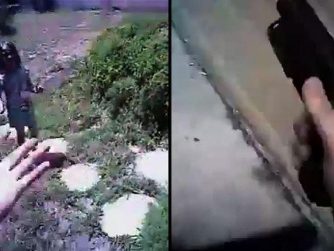 Florida, spara alla moglie che lo vuole lasciare, solo l'intervento di un agente mette in salvo la donna e i tre figli
