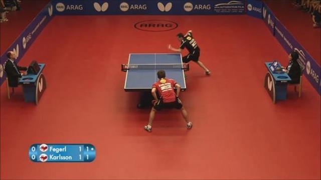 Ecco il miglior punto nella storia del ping pong
