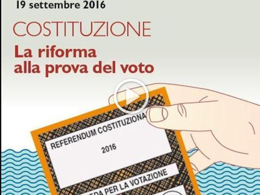 La riforma alla prova del voto, il confronto tra Boschi e Onida