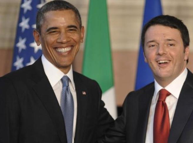Washington, Obama accoglie Renzi alla Casa Bianca Diretta