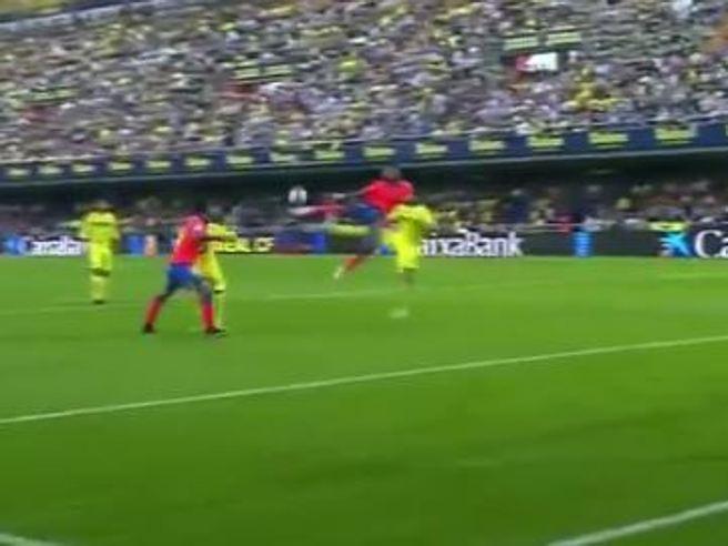 Boateng, gol da favola contro il Villarreal
