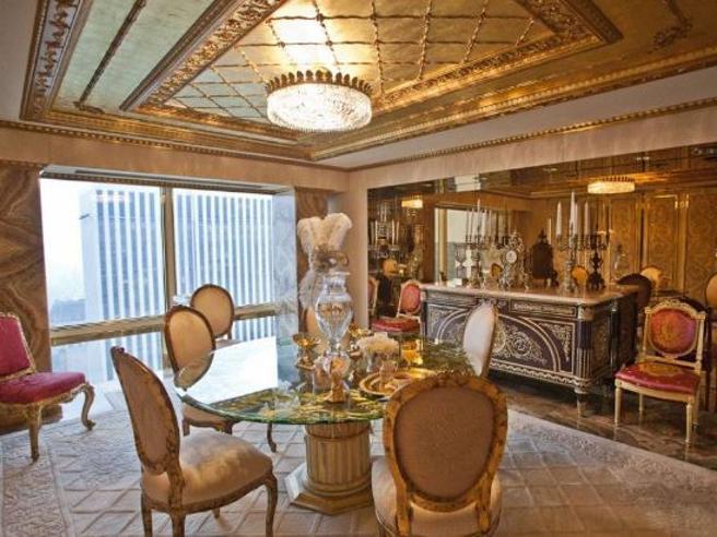 Dentro la Trump Tower, l'attico superlusso di Donald e Melania