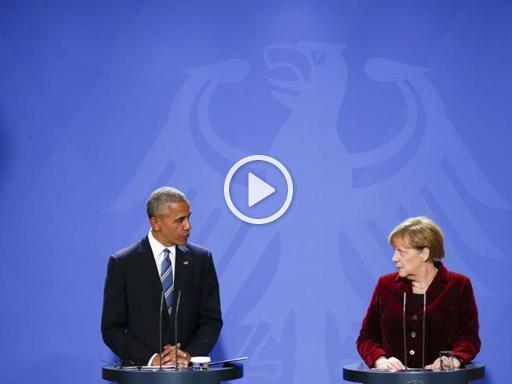 Obama in visita in Germania. L'ultimo incontro con Angela Merkel da presidente Usa