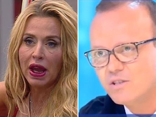 Gigi D'Alessio e il debito con Valeria Marini: «Lei vuole più soldi di quelli che le spettano»