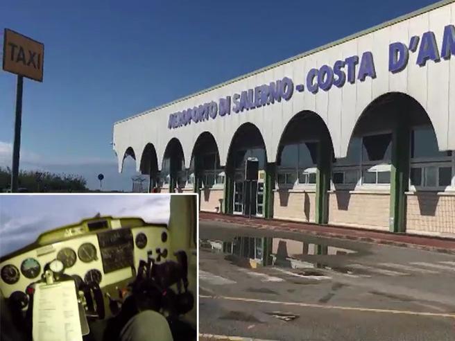 Salerno, dentro l'aeroporto abbandonato dove si può anche rubare un aereo La videoinchiesta