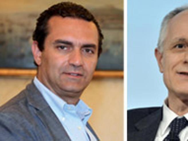 Agenda Italia, il Corriere a Napoli: il direttore  Fontana intervista   de Magistris Live