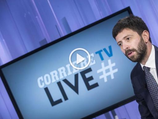 #Corrierelive, si parla di Referendum con Roberto Speranza