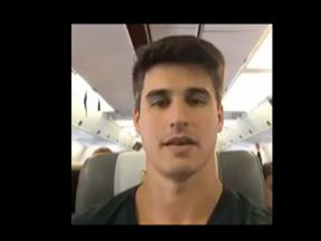 Filipe Machado (ex Salernitana) sul volo prima dello schianto: «Forza, si parte per la Colombia»