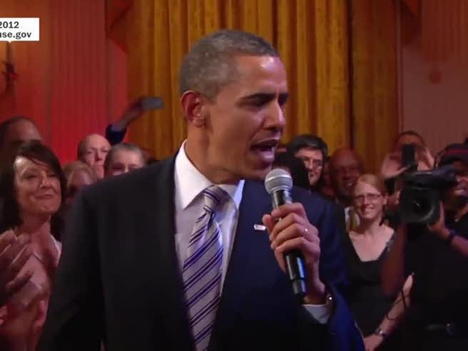 Dal blues al gospel, ecco le migliori performance canore di Obama