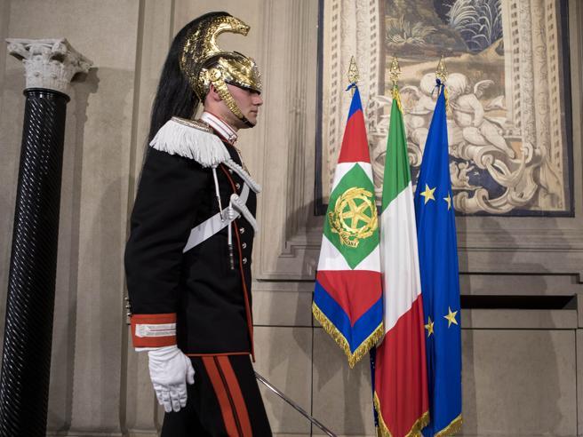 Berlusconi al Quirinale per le Consultazioni Diretta video