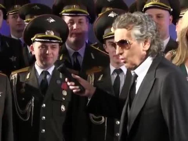 Toto Cutugno: «Coro russo? Sono sconvolto. Dovevo andare in Siria con loro»