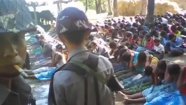 Il videoselfie del soldato  birmano, come  sfondo abusi sui    rohingya Video