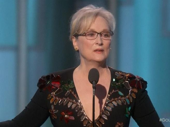 Golden Globe: Meryl Streep dal palco attacca Trump Video