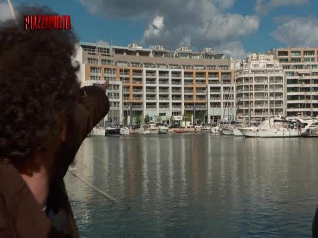 Piazzapulita nel  residence d0rato acquistato dalla moglie di Marraa Malta Il video