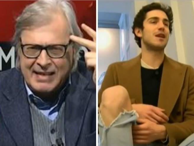 Vittorio Sgarbi contro la riccanza di Tommaso Zorzi