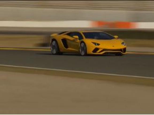 Numeri da matti (di gioia) a Valenciacon la Lamborghini Aventador S