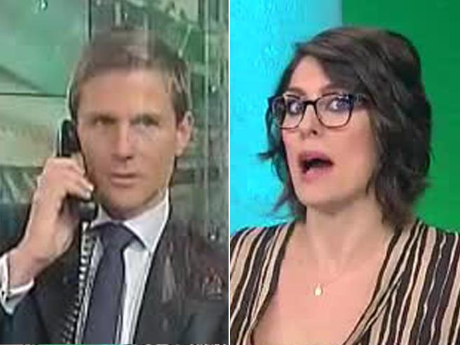 Telefonata con insulti in diretta su Rai uno, l'imbarazzo di Elisa Isoardi