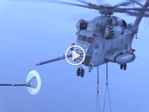 Elicottero Hercules : Il difficilissimo rifornimento in volo dell elicottero più