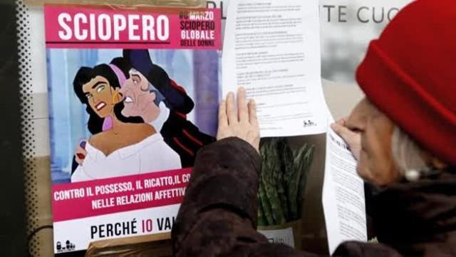 Risultati immagini per 8 marzo sciopero