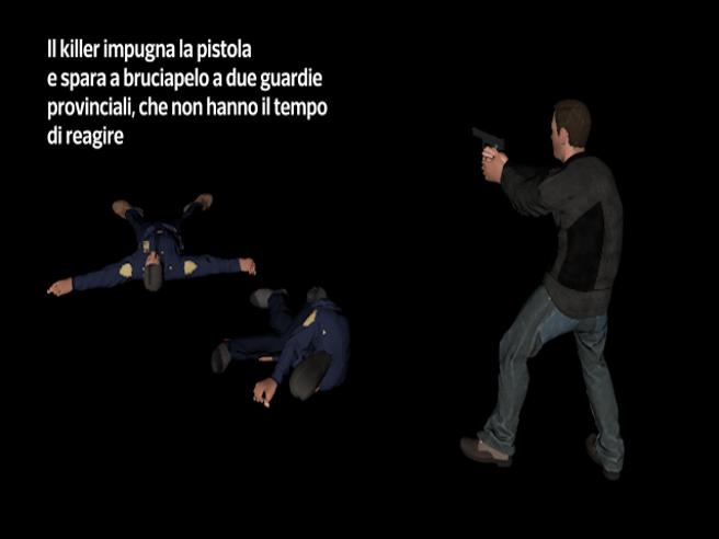 L'ultima corsa di «Igor il russo». La videoricostruzioneIl killer preso in Spagna, tradito da un colpo di sonno
