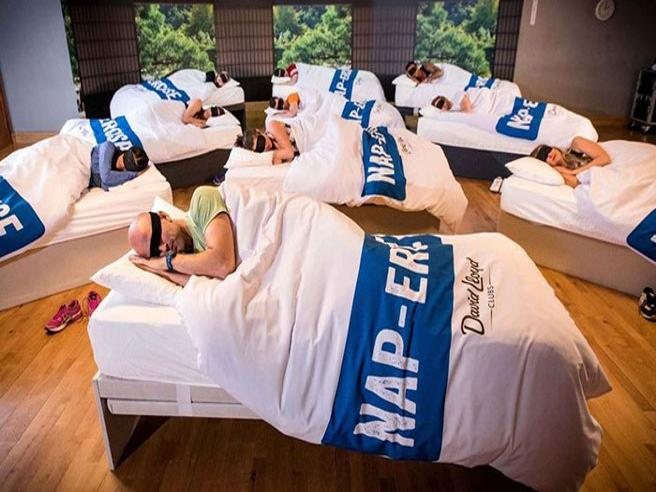 Nella palestra di Londra dove si dimagrisce dormendo 45 minuti