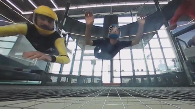 In caduta libera alla periferia di Milano - Il video a 360 gradi