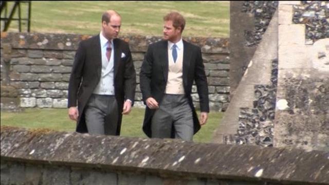 Matrimonio Harry In Chiesa : Il matrimonio di pippa middleton: i principi william e harry